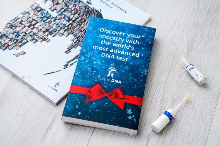 Courtesy Living DNAIf you're seriously stumped and out of Christmas gift  ideas, try a Living DNA ancestry test. This test, unlike so many of the  others on ...