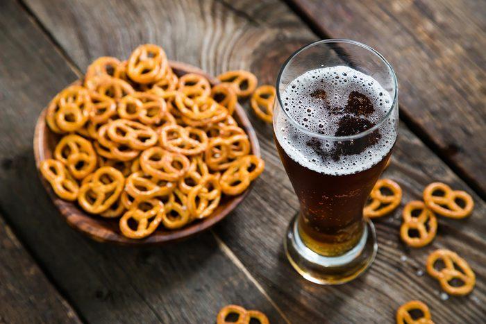 Pretzels-beer