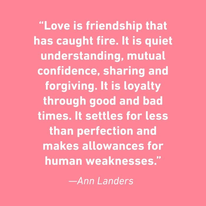 Ann Landers Relationship Quotes That Celebrate Love