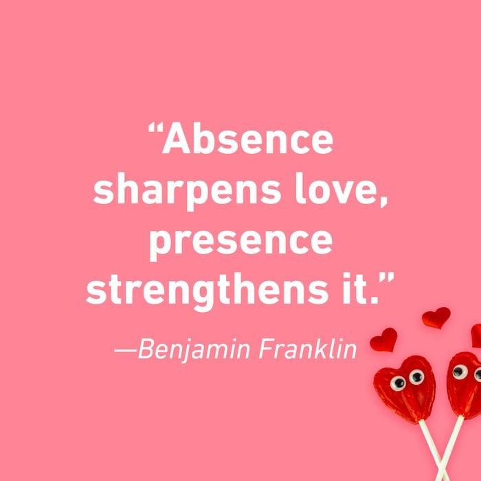 Benjamin Franklin Relationship Quotes That Celebrate Love 2