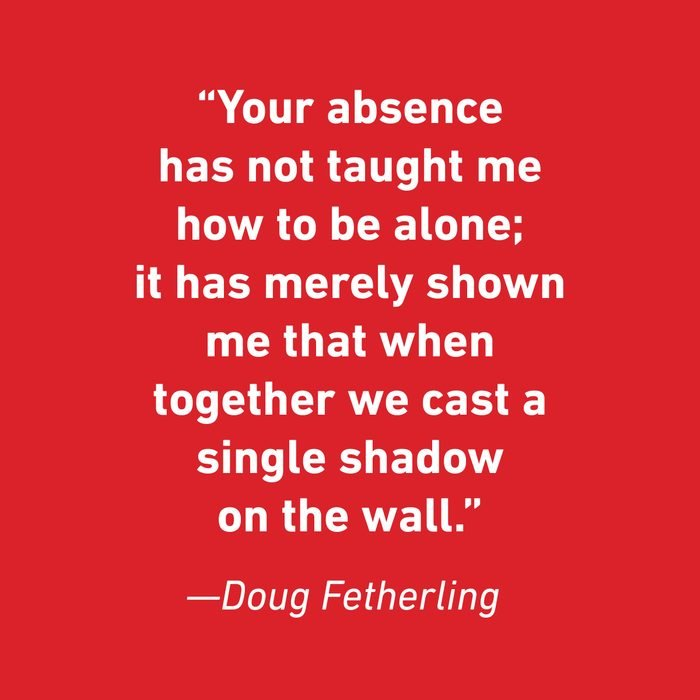 Doug Fetherling Relationship Quotes That Celebrate Love