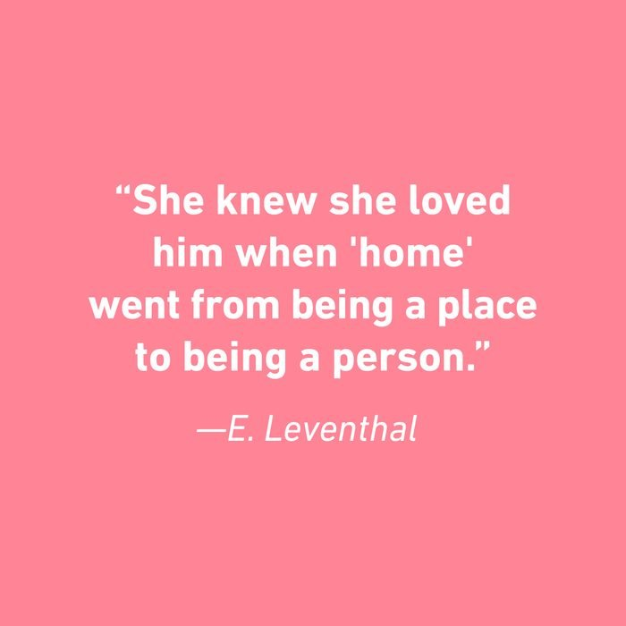 E. Leventhal Relationship Quotes That Celebrate Love