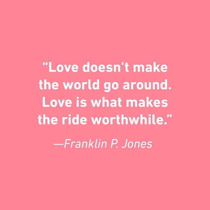 Franklin P. Jones Relationship Quotes That Celebrate Love