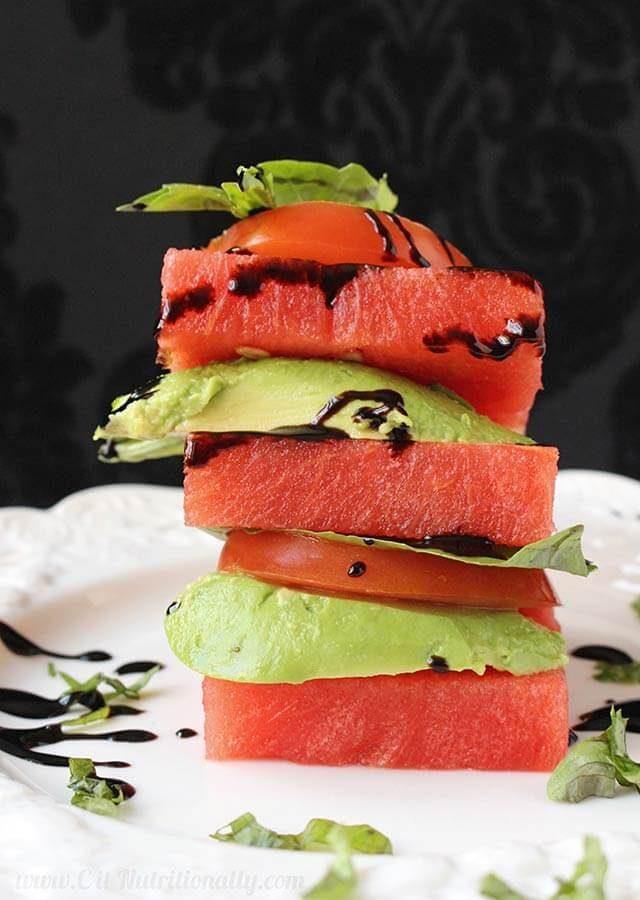 watermelon avocado