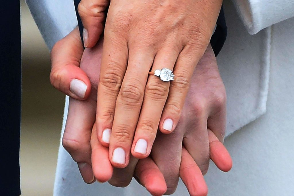 Meghan Markle Wedding Ring.The Story Behind Meghan Markle S Engagement Ring Will Make You Melt