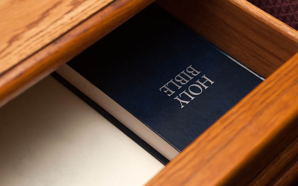 This Is the Real Reason Why Hotel Rooms Have Bibles
