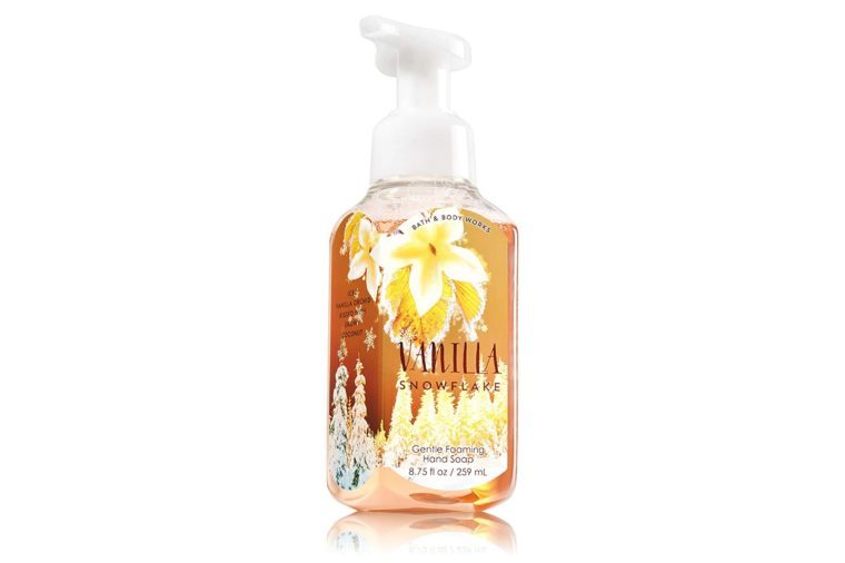 Bath U0026 Body Works Gentle Foaming Hand Soap Vanilla Snowflake