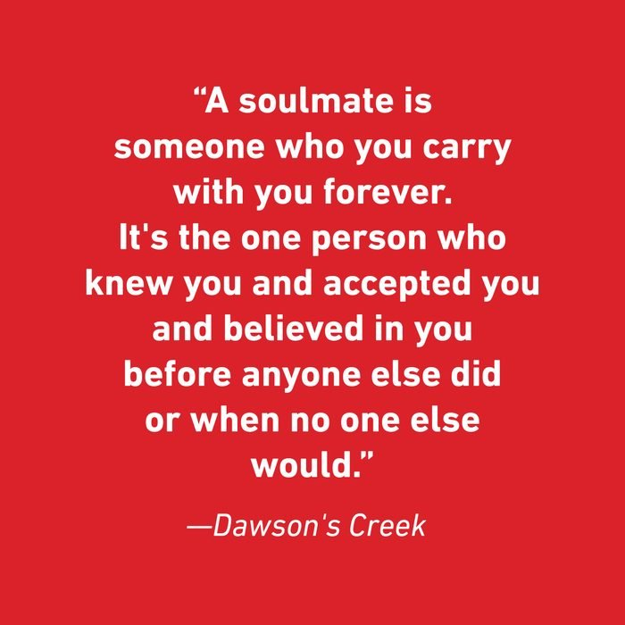 Dawson's Creek Relationship Quotes That Celebrate Love