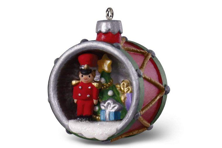 80611d618b0 Hallmark Keepsake Mini Christmas Ornament 2018 Year Dated