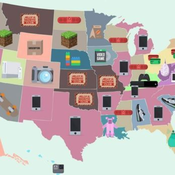 This Map Shows the Most Popular Christmas Gift in Every State