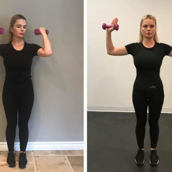 How to Lose Arm Fat, According to a Personal Trainer