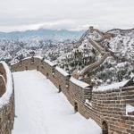 25 Stunning Photos of Landmarks Covered in Snow
