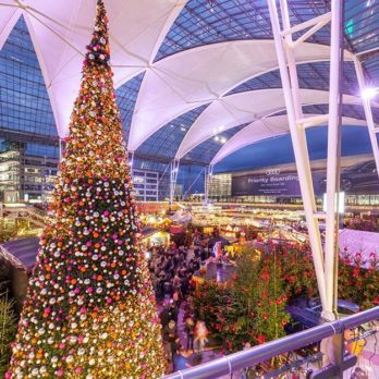 This Airport May Have the Best Holiday Decorations in the World