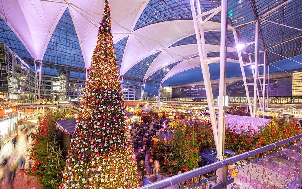 Munich Airport Has The Best Christmas Decorations Reader S Digest