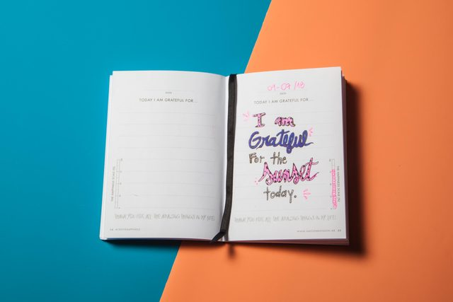 1 gratitude journal