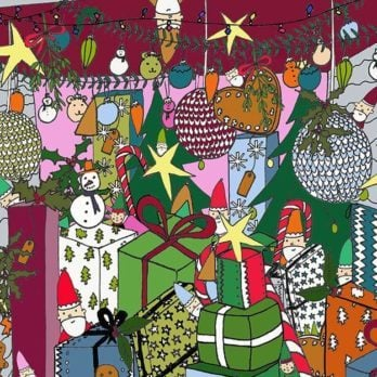 Santa's Elf Lost His Boot in This Hidden Picture—Can You Find It?