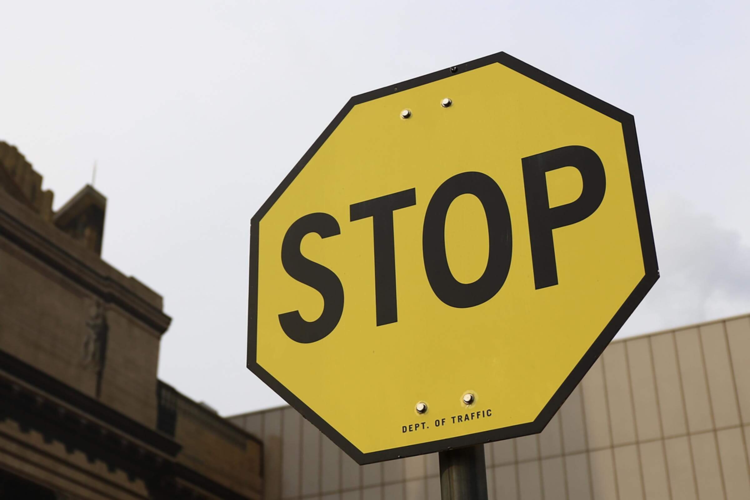 4324439b706 Stop Signs Used to Be Yellow—More Recently Than You Think