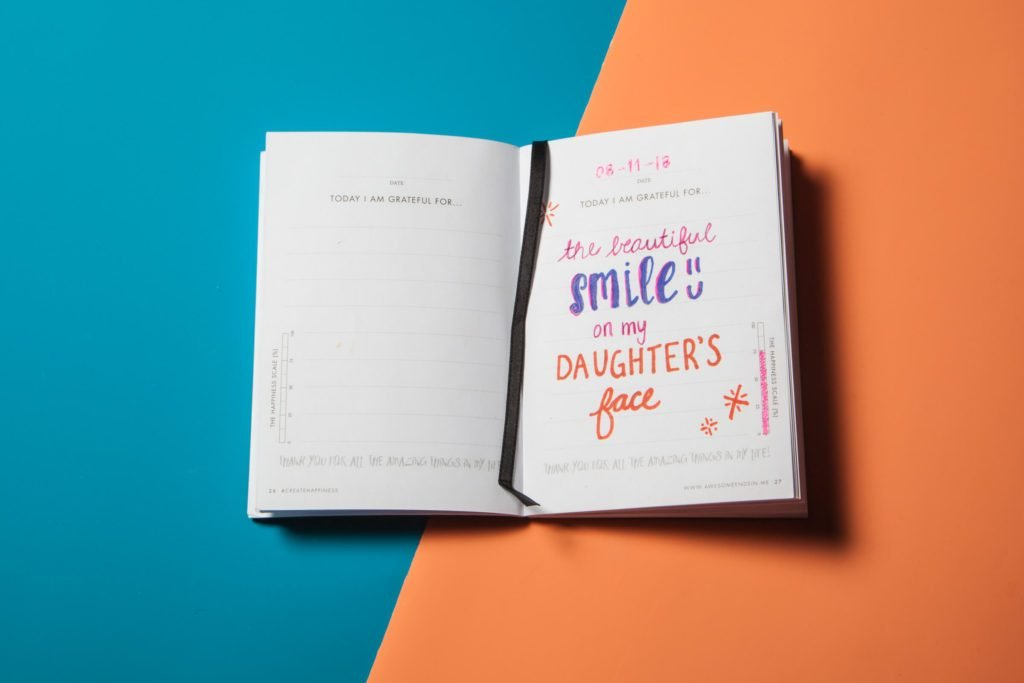 2 gratitude journal