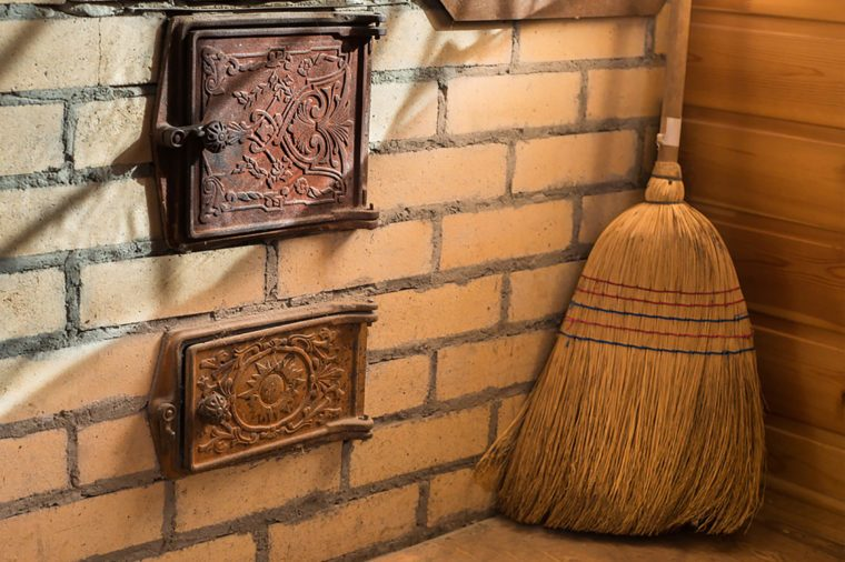 people hide all the brooms in the house on christmas eve to prevent witches from stealing them for a midnight ride its also a christmas eve tradition