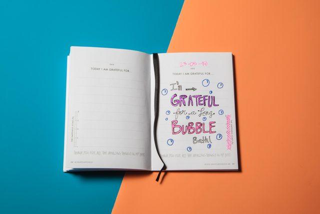 4 gratitude journal