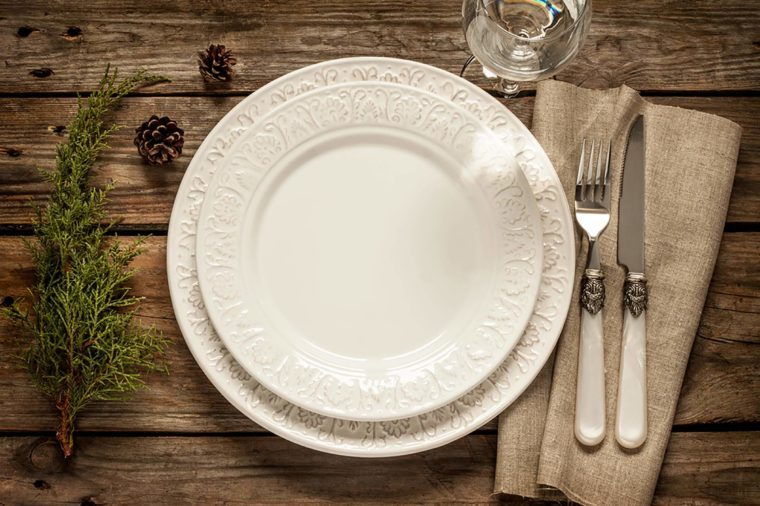 plate-setting