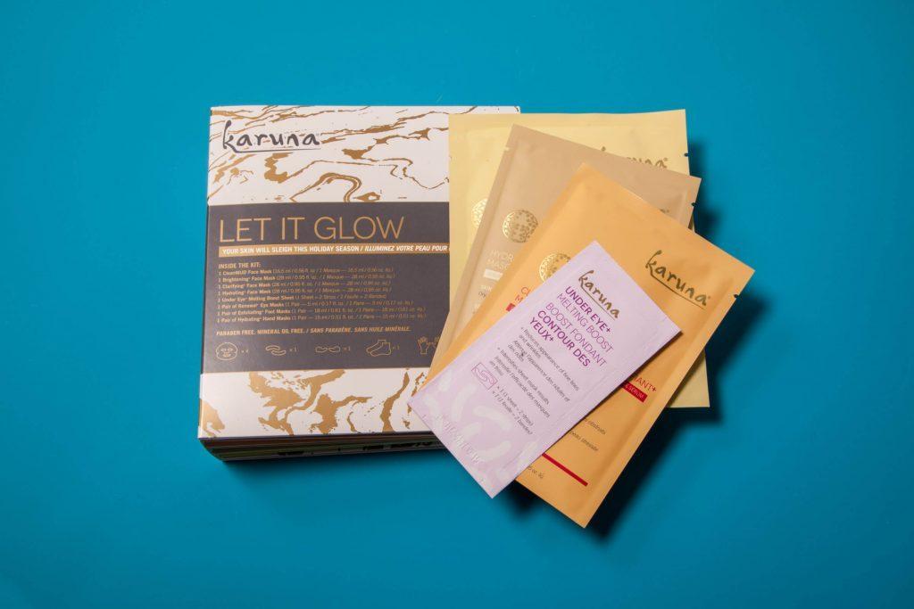 karuna karma face mask kit