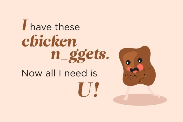 Funny food pick up lines