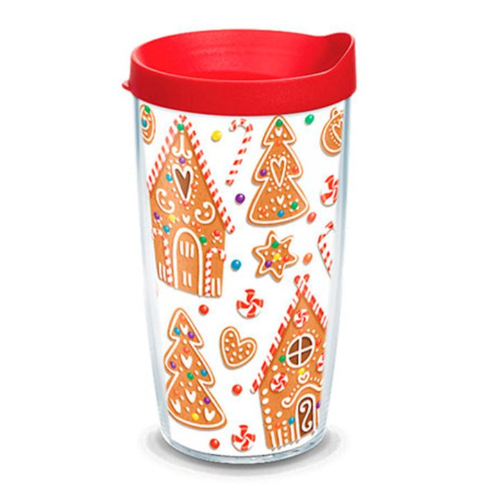 Gingerbread house coffee cup