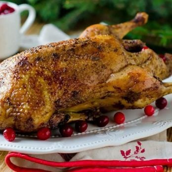 Here's What Happened to the Once-Popular Christmas Goose Dinner