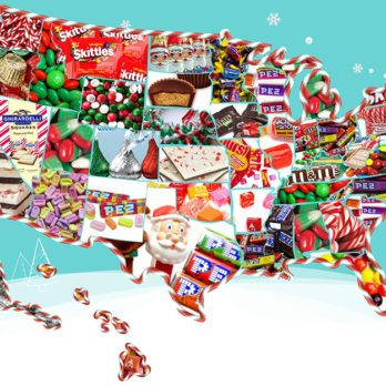 This Map Shows the Most Popular Christmas Candy in Your State