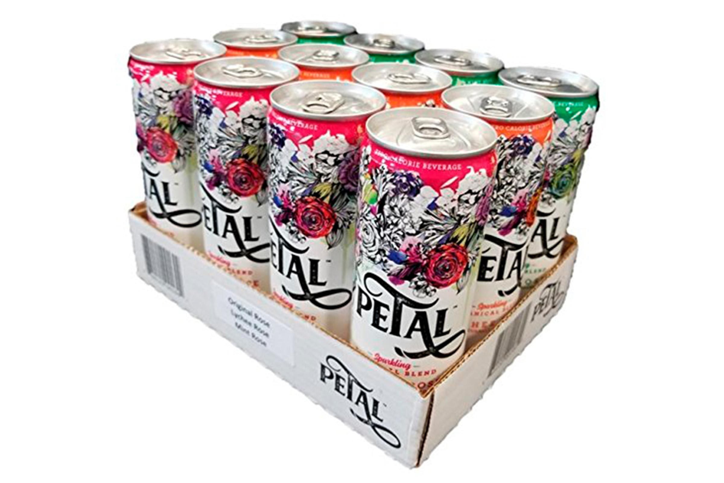 Petal sparkling beverages