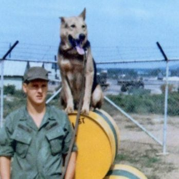 How One Army Sentry Dog Helped This Soldier Through His Time Serving