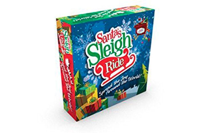 Santa's Sleigh Ride Game