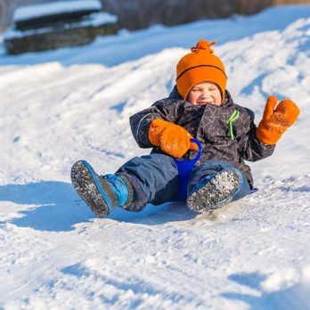 The Unofficial Rules of Sledding We Learned as Kids