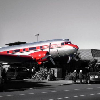 The Coolest McDonald's in the World Has Its Very Own Vintage Plane