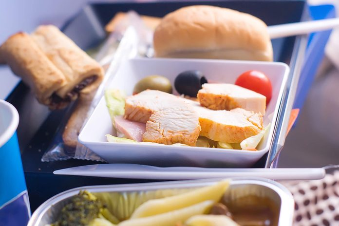 Airplane-lunch