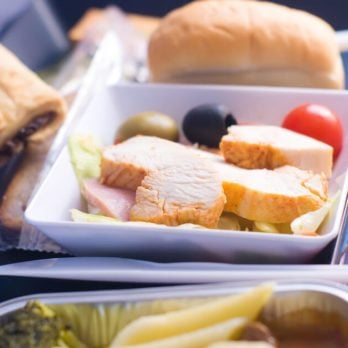 This Airline Serves the Unhealthiest Food of Any U.S. Airline