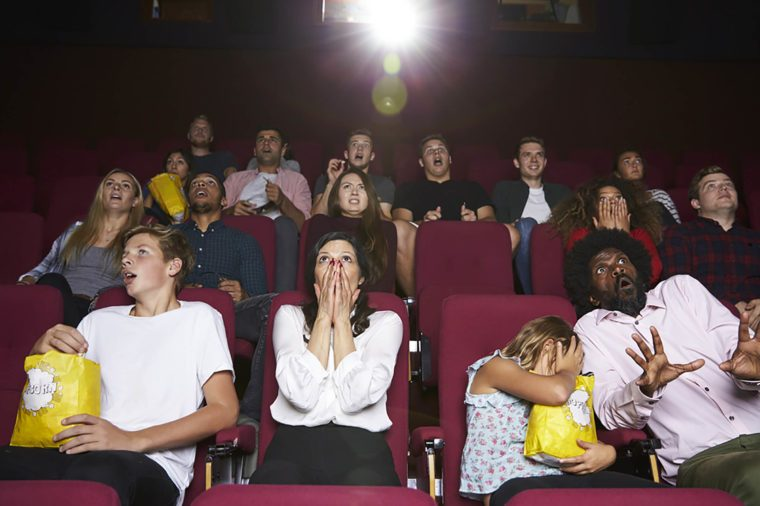 What Watching Scary Movies Does to Your Body | Reader's Digest