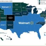 This Map Breaks Down the Largest Employer in Each State