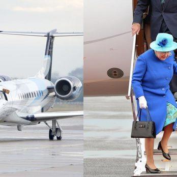 This Is the Unusual Way Queen Elizabeth Beats Jet Lag