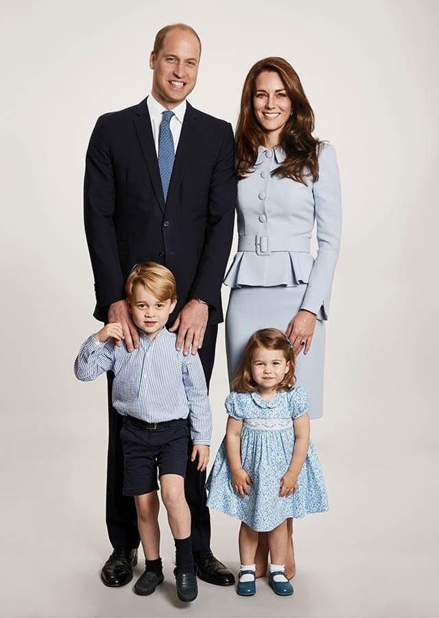Royal Christmas card