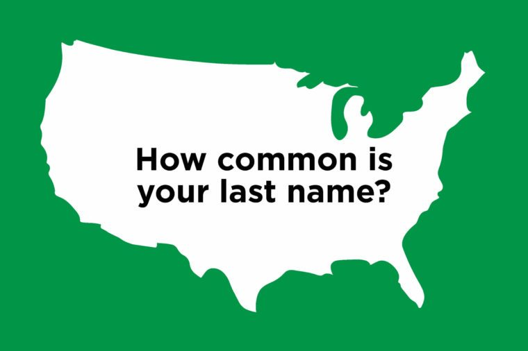 Last Names: The Most Common Last Names In Your State