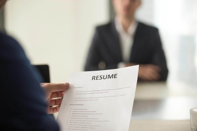 Résumé Writing Tips From HR and Recruiters Reader\u0027s Digest