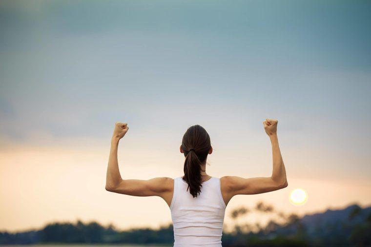 Muscular-woman