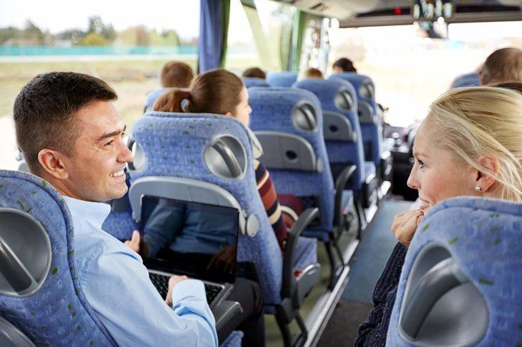 Tourist-conversing