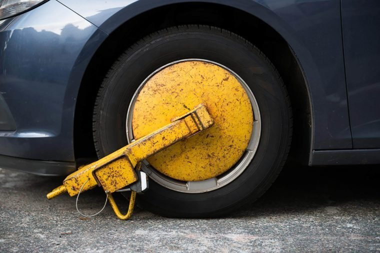 Car-wheel-towed