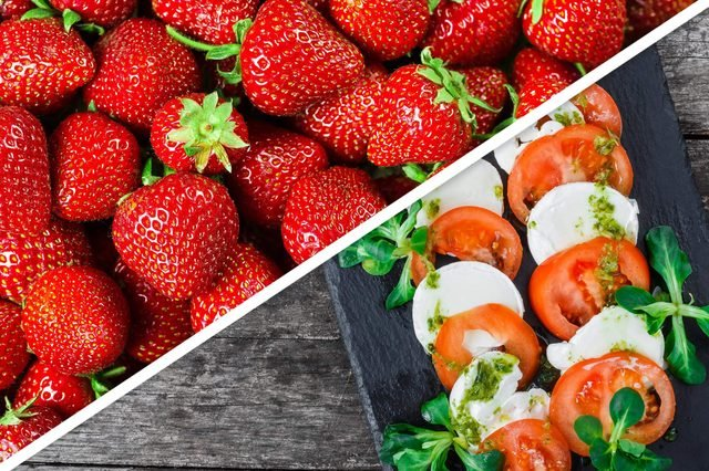 strawberry-tomatoes