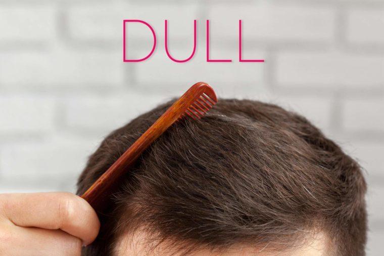 Dull-hair