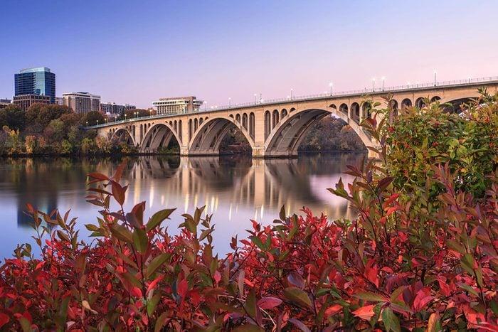 Washington D.C. bridge