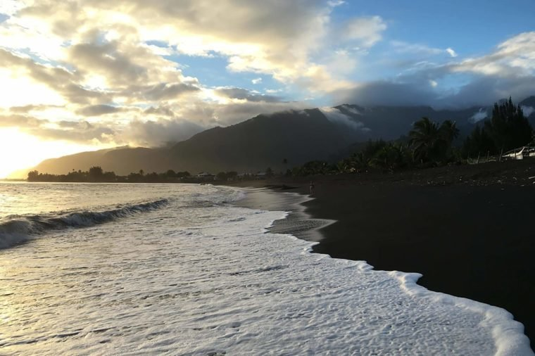 Black-sand-beaches